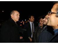 Cumhurbaşkanı Erdoğan, minibüs ve taksi şoförleriyle sohbet etti