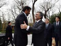 Katar Emiri, Abdullah Gül'e Taziye Ziyaretinde Bulundu