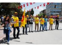1 Mayıs İşçi Bayramı Burdur'da Kutlandı