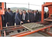 Refahiye'de Kum Ocağı Parke Üretim Tesisinin Açıldı