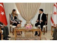 Ganire Paşayeva KKTC Başbakanı Özgürgün'le Görüştü