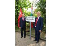 Budapeşte'de Ankara Sokağı Açıldı