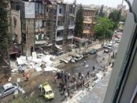 Suriye'de Hastaneye Roketli Saldırı