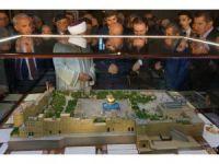 Mescid-i Aksa maketinde Kudüs'ten getirilen toprak kullanıldı