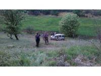 Uşak'ta şarampole yuvarlanan araçtaki çocuk hayatını kaybetti