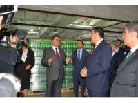 Bakan Tüfenkci, gıda şirketi Baktat'ı ziyaret etti