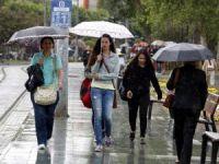 Antalya'da Yağmur