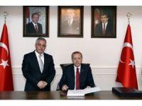 Cumhurbaşkanı Erdoğan, Yeni Eyüp Belediye Binasını Ziyaret Etti