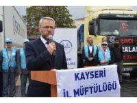 Kayserili Hayırseverler Bayır Bucak Türkmenlerini Unutmadı