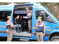 Jandarma Mobil Karakolu Hizmete Girdi