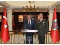 Emekli Orgeneral Büyükanıt, Orgeneral Akar'ı Ziyaret Etti