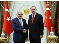 AK Parti Genel Başkanı Yıldırım, Cumhurbaşkanlığı Külliyesi'nde