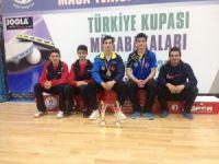 Yalova Belediyespor Masa Tenisi Türkiye Kupasına Damga Vurdu