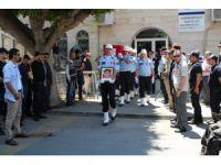Şehit Polis Fırat Palamut'u son yolculuğuna binlerce kişi uğurladı