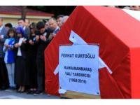 Hayatını kaybeden Vali Yardımcısı törenle uğurlandı