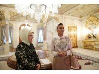 Emine Erdoğan'ın Dünya İnsani Zirvesi kapsamında ikili görüşmeleri