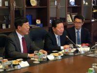 TBMM Başkanvekili Hamzaçebi, Çin Heyeti İle Bir Araya Geldi