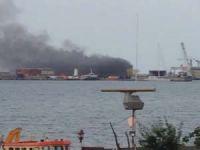 Tuzla Tersaneler bölgesinde patlama oldu