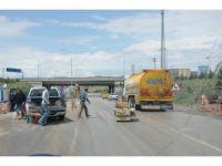 Ankara-Kırıkkale karayoluna 'kanepe' düştü