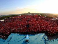 Cumhurbaşkanı Erdoğan'ın katılımıyla Fetih coşkusu Yenikapı'da