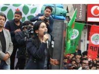 HDP Eş Genel Başkanı Figen Yüksekdağ Ağrı'da
