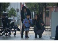 Engelli Çocuklar Tekerlekli Sandalyelerine Kavuştu