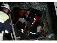 Yozgat'ta otobüs şarampole devrildi: 3 ölü, 30 yaralı