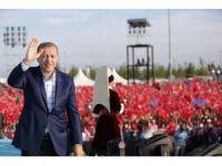 Cumhurbaşkanı Erdoğan'dan İstanbul Halkına Teşekkür