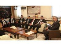 Adalet Bakanı Müsteşar Yardımcısı Musa Heybet'ten moral destek ziyareti