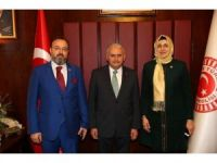 Tekirdağlı Vekillerden Yeni Başbakana Ziyaret