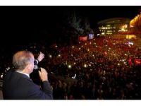 Erdoğan: Bölücü terör örgütünün son çırpınışlarıdır