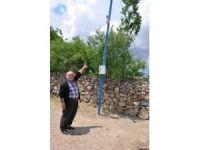 Muhtar köye kamera taktırdı