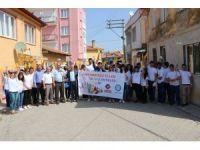 'Üniversiteli Eller Renkli Şehirler Projesi' kapsamında 39 ev boyanıyor