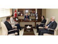 Milli Eğitim Müdürleri Yıldız, Çandıroğlu Ve Arslan Sekmen'i Ziyaret Etti