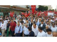 Aydın'da demokrasi nöbeti