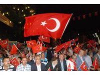 Demokrasi şehidinin ağabeyi demokrasi nöbeti tuttu