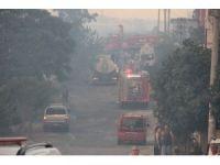 İzmir'de askeri alanda çıkan yangın söndürüldü