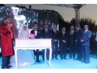 TÜRK-İŞ Genel Başkanı Ergün Atalay'ın oğlu dünyaevine girdi
