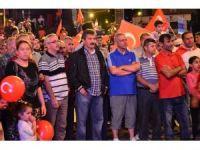 Zonguldaklı vatandaşlar demokrasi nöbetinde