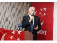 Saadet Partisi Genel Başkanı Mustafa Kamalak Tavşanlı'da