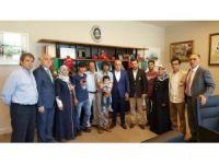 Cumhurbaşkanı Başdanışmanı Topçu, 15 Temmuz gecesi darbe girişiminde şehit olan vatandaşların aileleri biraraya geldi