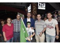 Mamak Belediyesi'nden demokrasi nöbetine destek
