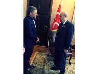 MHP Bolu İl Başkanı Adem Evcil, Bahçeli'yi ziyaret etti