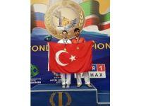 İzmirli tekvandocu Simge Erensayın, Avrupa şampiyonu oldu