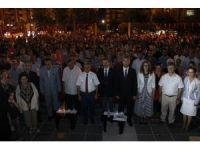 Çanakkale'de 'Demokrasi ve Milli Birlik Mitingi'