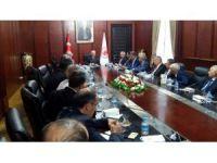 SADEF'ten TBMM Başkanı Kahraman'a geçmiş olsun ziyareti