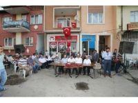 Osmangazi Mahallesi sakinleri demokrasi şehitleri için mevlit okuttu