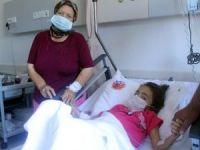 Anne yüreği dayanmadı, böbreğini küçük kızına bağışladı