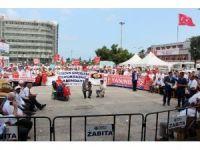 Muhtarlar, demokrasi ateşini Samsun'dan yaktı