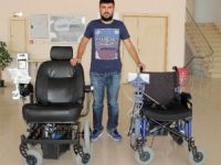 Teyzesinin hastalığından etkilendi 'akıllı sandalye' geliştirdi